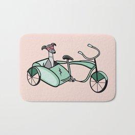 let's cruise - pink Bath Mat