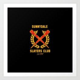The Club Art Print