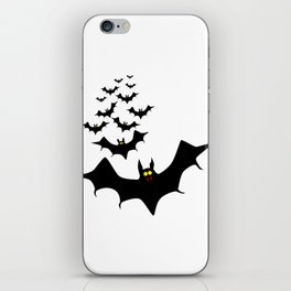 Isolated Bats iPhone Skin