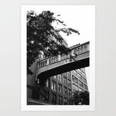Chelsea Architecture Art Print