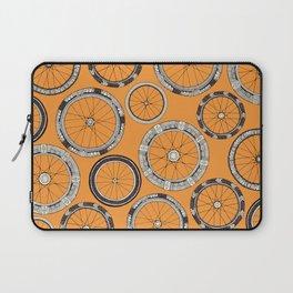 bike wheels amber Laptop Sleeve