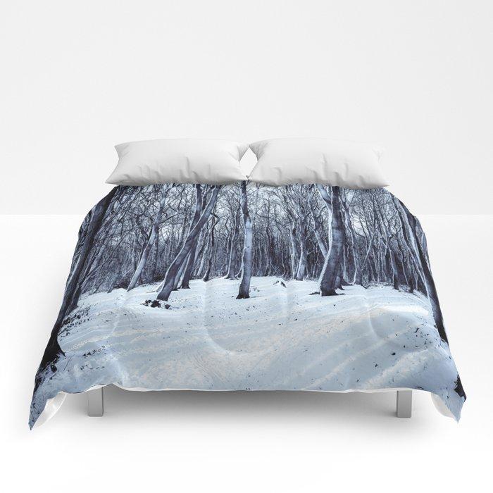 Black Winter Comforters