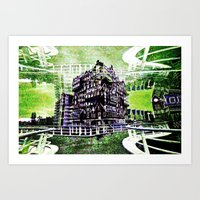 The House on the Corner Art Print
