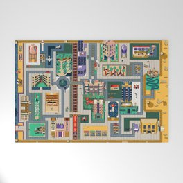 Map of life Welcome Mat