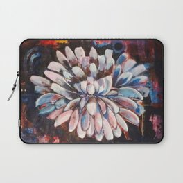 Just A White Bloom Laptop Sleeve