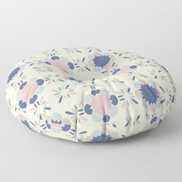 Pastel Tile Floor Pillow