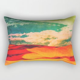 Why Won't You Make Up Your Mind?_ Rectangular Pillow