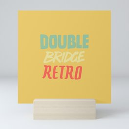 Double Bridge Retro - Handlettering Mini Art Print