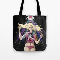 prism Tote Bags featuring Prism by Erith