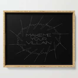 Make Me Your Villain - The Darkling Serving Tray