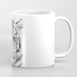 Black and white tiger Coffee Mug