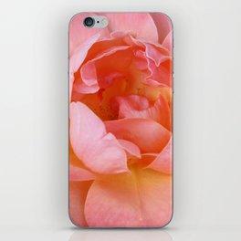 Blooming Pink Flower iPhone Skin