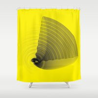 pi Shower Curtains featuring pi by Graphmob