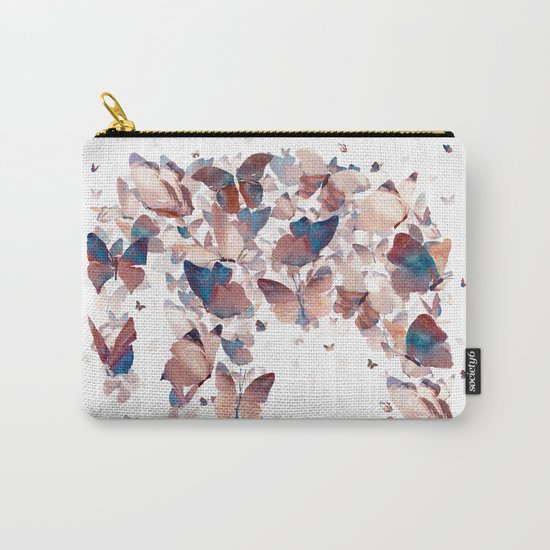 Butterfly Assemblage Carry-All Pouch