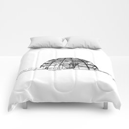 Reichstag Dome, Foster + Partners Comforters