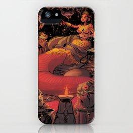 Lizard Queen iPhone Case