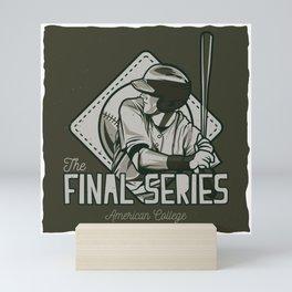 The Final Series Baseball Mini Art Print