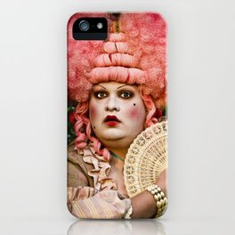 Madame Dotty iPhone Case