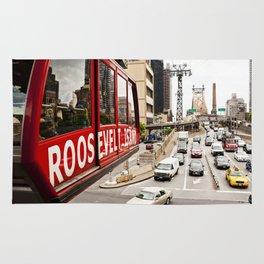 Roosevelt Island Sky Lift. New York City. Rug