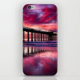 Warm Winter's Sunset iPhone Skin