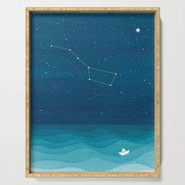 Big Dipper constellation Serving Tray