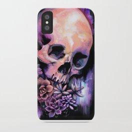 Succulent Skull iPhone Case