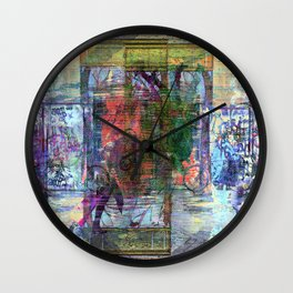For when the segmentation resounds, abundantly. 13 Wall Clock
