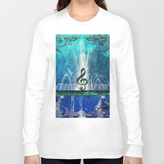 Music, clef Long Sleeve T-shirt