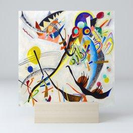Wassily Kandinsky Blue Segment II Mini Art Print