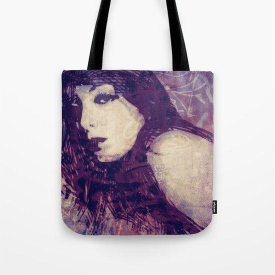 Scribble Chic Tote Bag