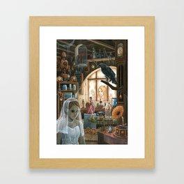 Old Things Framed Art Print