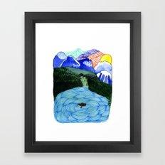 Landscapes / Nr. 1 Framed Art Print