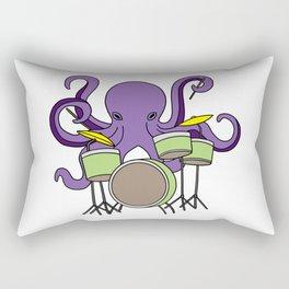 octopus drummer Drum Player Son Daughter gift Rectangular Pillow