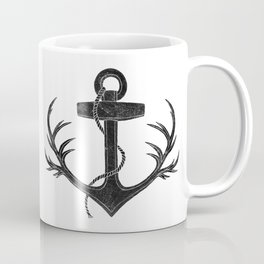 Antlered Anchor Coffee Mug