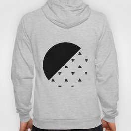 Triangle and triangles Hoody