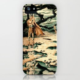 Viking Man iPhone Case