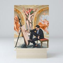 The Artist with Liverano & Liverano Styling Mini Art Print