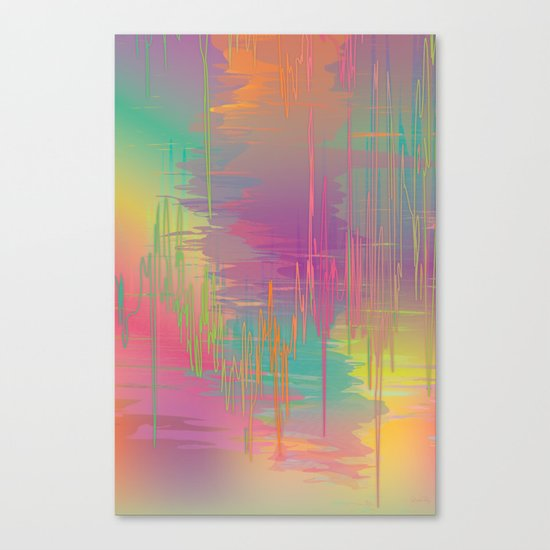 Rainbow Storm Canvas Print
