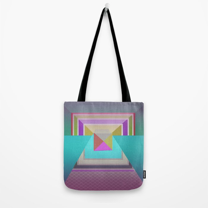 Angles in Abstract Tote Bag
