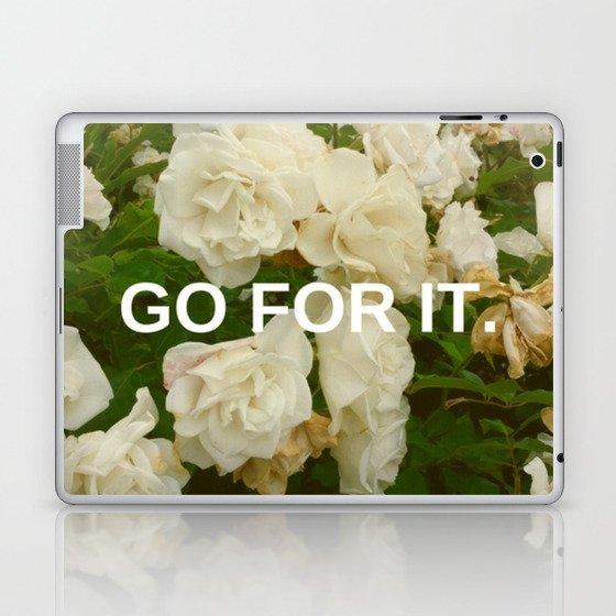 Go For It Laptop & iPad Skin