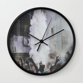 Holi Festival II Wall Clock