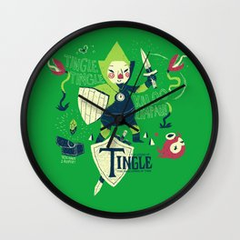the legend of tingle Wall Clock
