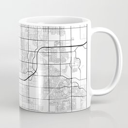Minimal City Maps - Map Of Gilbert, Arizona, United States Coffee Mug