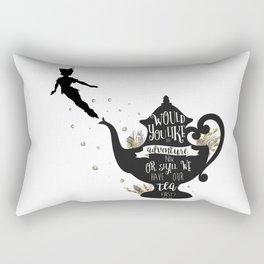 Peter Pan Quote Rectangular Pillow