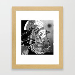 a place of invisibility Framed Art Print