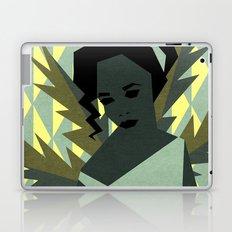 The shy girl Laptop & iPad Skin