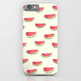 Watercolor Watermelon iPhone Case