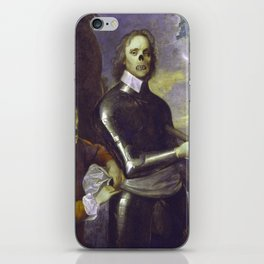 Zombie Oliver Cromwell iPhone Skin