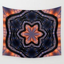 Vibrant Romeo Sunrise Kaleidoscope Wall Tapestry