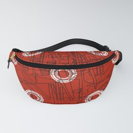 Glory with Polo Circles Fanny Pack
